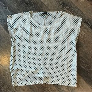 Club Monaco sheer blouse